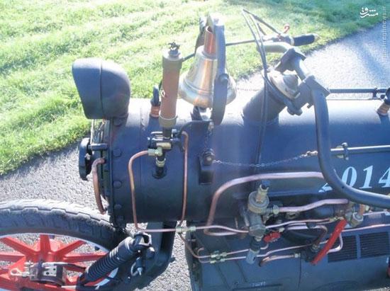 موتورسیکلت بخار سفارشی