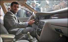خودرو احمدی نژاد, رئیسجمهور