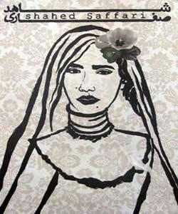 نقاشیهای شاهد صفاری از جمعه در نگارخانه شیرازی
