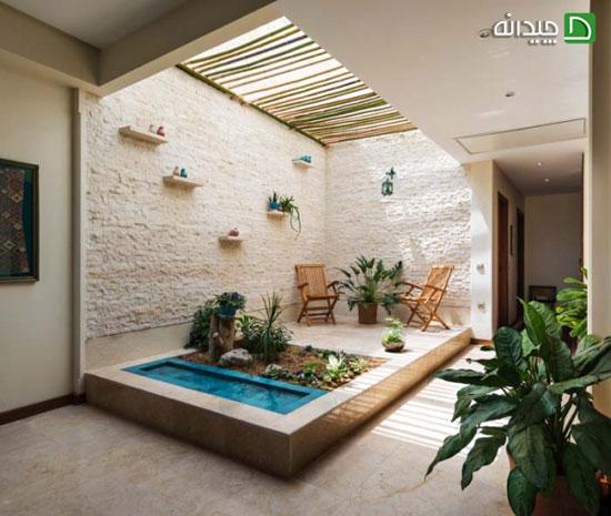 طراحی فضای سبز حیاط در ۱۰ ویلای ایرانی!