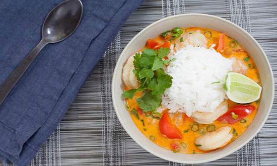 طرز تهیه خورش دریایی تایلندی
