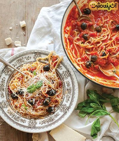 اسپاگتی با سس ماریانا