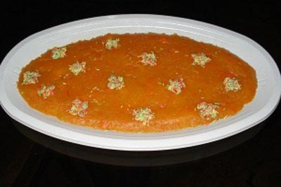 طرز تهیه ترحلوا با هویج , پخت ترحلوا