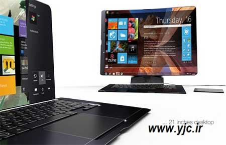 کامپیوتر شخصی , طراحی جدید لپ تاپ