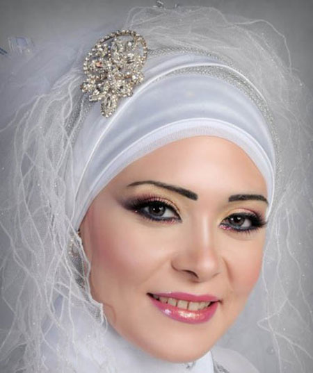 تور محجبه عروس, تور با حجاب عروس