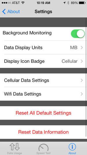 دانلود برنامه Data Manager برای iOS