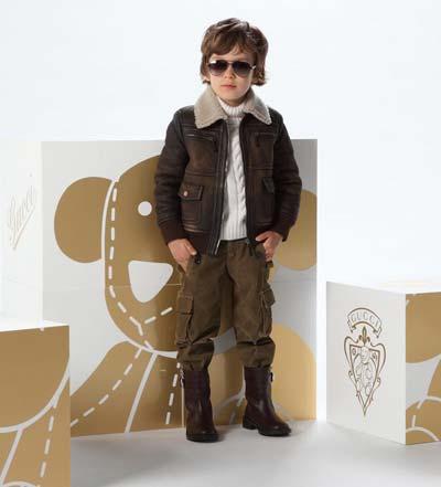 لباس زمستانی پسرانه, مدل کاپشن بچه گانه