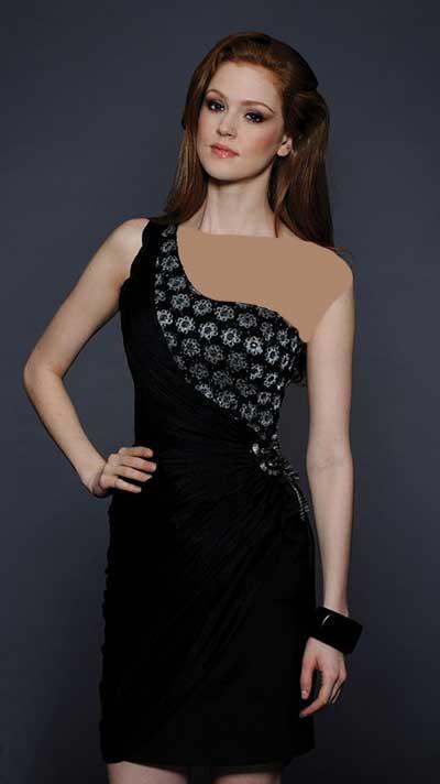 لباس کوتاه مجلسی , لباس دخترانه مجلسی