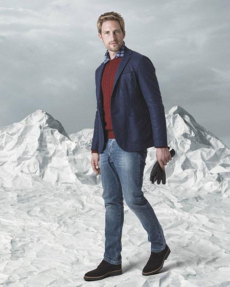 لباس مردانه برند Fedeli,مدل لباس زمستانی مردانه