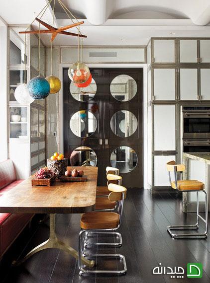 10 ایده برای طراحی فضای غذاخوری در آشپزخانه