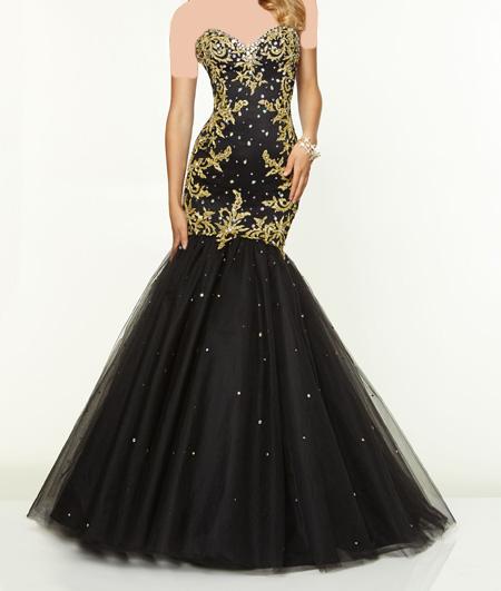 لباس مجلسی بلند زنانه, لباس مجلسی ساده و شیک