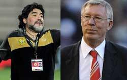 انتقاد مارادونا از فرگوسن