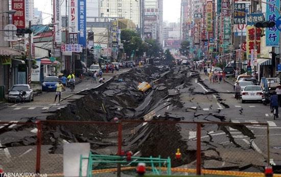 تصاویر هالیوودی از انفجار مرگبار تایوان