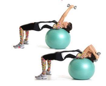 تناسب اندام,ورزش با توپ,بدنسازی با توپ