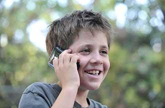 کودکان و تلفن همراه,تلفنهمراه کودکان