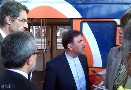 اخبار,اخباراقتصادی,بازید  وزیر راه و شهرسازی  از مترودر فرانسه