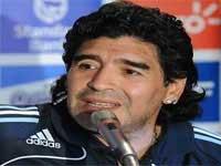 انتقاد مارادونا از بلاتر