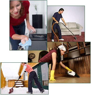 نظم,تمیز کردن خانه