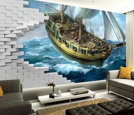 مدل کاغذ دیواری, دکوراسیون کاغذ دیواری