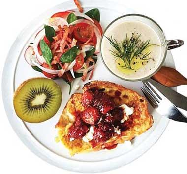 صبحانه متنوع و مقوی برای کودکان,صبحانه مقوی برای کودکان