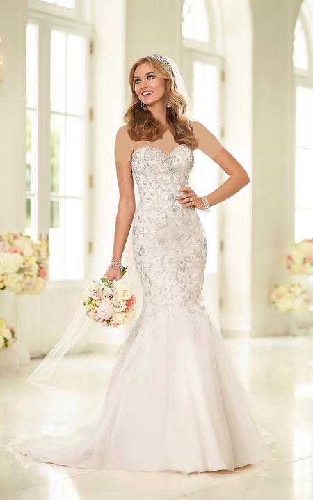 مدل لباس عروس,انواع مدل لباس عروس,زیباترین مدل لباس عروس
