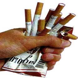 گزارش لحظه ای از ترك سیگار !!