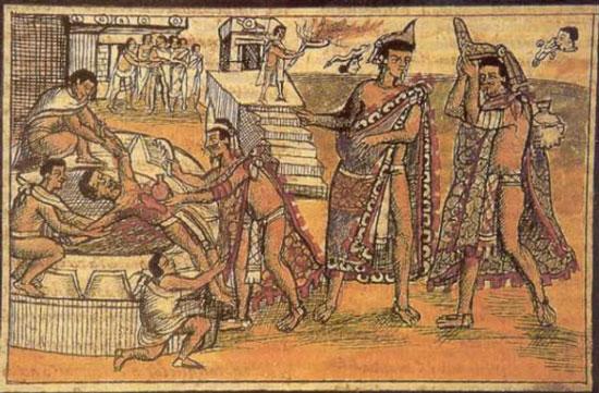 برشهایی کوتاه از تاریخ – قسمت ۲- سال ۱۴۸۷ میلادی- آزتکها ۲۰ هزار نفر را برای خدای جنگ قربانی کردند!