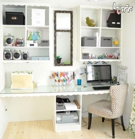 ایده های الهام بخش برای اتاق کار در خانه (1)