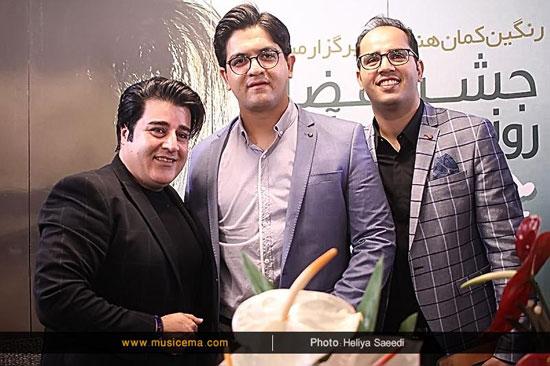 جشن انتشار آلبوم جدید «مهدی یغمایی» در کنار مخاطبانش