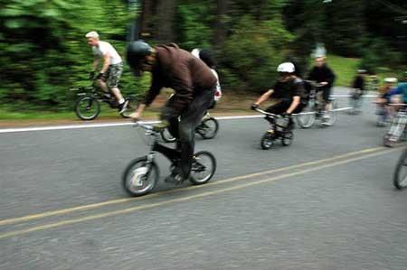 اخبار ,اخبار گوناگون ,عجیب ترین مسابقه دوچرخه سواری