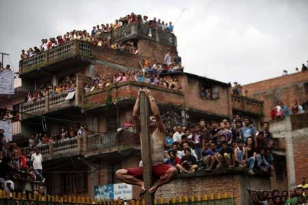 برگزاری فستیوال سالانه در نپال