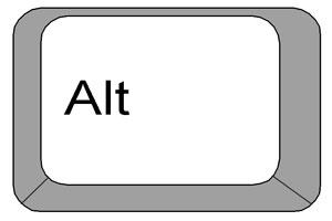 5 کاربرد جالب کلید Alt