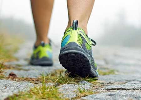 کم کردن وزن,پیاده روی, اصول پیاده روی صحیح