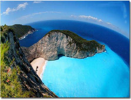 ساحل ناواگیو یکی از  زیباترین مکانهای روی زمین