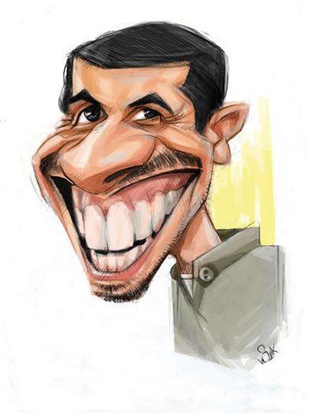 کاریکاتور چهره,عکس کاریکاتور چهره بازیگران,کاریکاتور جواد رضویان