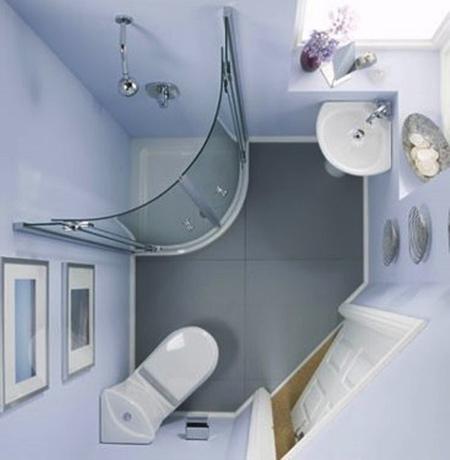 حمام و سرویس بهداشتی های کوچک, ایده های حمام های کوچک