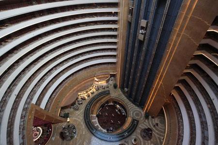 نمایی داخلی هتل کانتینانتال- چجیانگ، چین