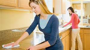 نکات مهم خانه تکانی , آشپزخانه تکانی