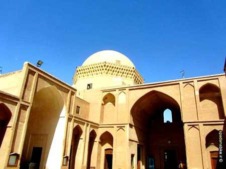 مدرسه ضیائیه یزد,بنای تاریخی زندان اسکندریه,بنای تاریخی مدرسه ضیائیه