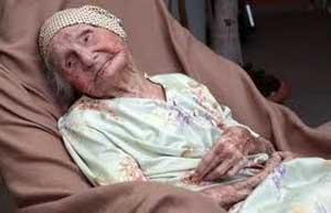 پیرترین زن جهان در ۱۱۴ سالگی درگذشت