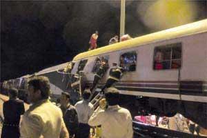 اخبار,اخبار حوادث ,تصادف قطار سمنان به دامغان