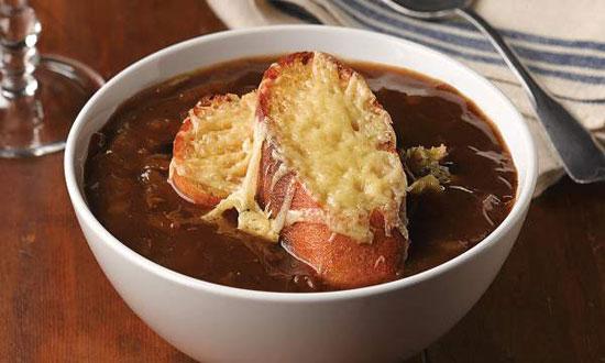 طرز تهیه سوپ فرانسوی پیاز