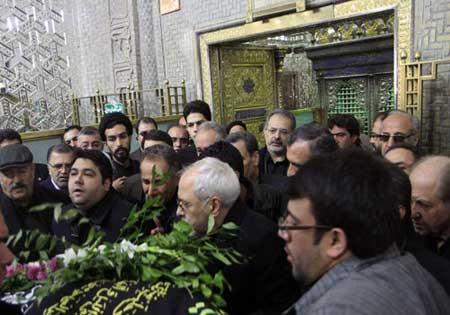 اخبار ,اخبار سیاسی ,مراسم فوت مادر وزیر امور خارجه