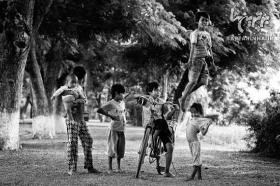 تصاویری زیبا از دنیای بازی کودکان +عکس