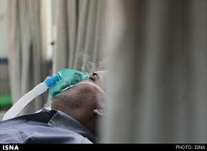 وضعیت بیماران تنگی نفس در اهواز, تنگی نفس