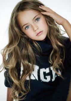 دختر 8 ساله روسی، نهمین سوپر مدل دنیا