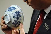 حراج چینی های سلطنتی به ارزش ۲۳ میلیون دلار