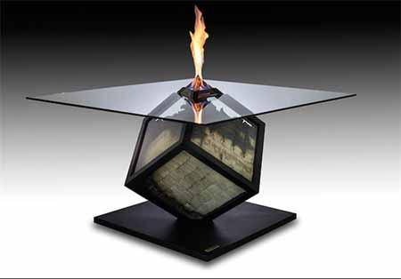 اخبار,اخبار علمی,میز آتش با کنترل از راه دور