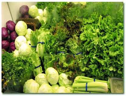 چند توصیه برای مصرف و پخت سبزی