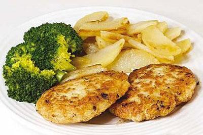 کوکو مرغ با لوبیا سفید,پخت کوکو مرغ با لوبیا سفید